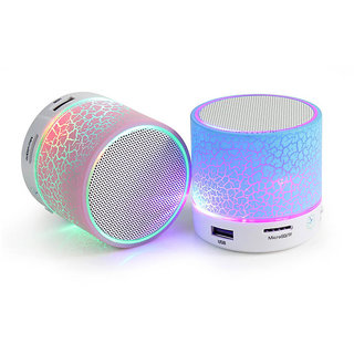 Portable Bluetooth Speaker S10 with Mini Dancing Light