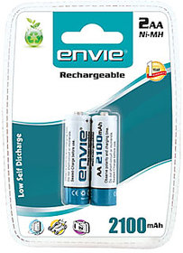 Envie 2100mAh Ni-Mh Rechargeable Battery Set