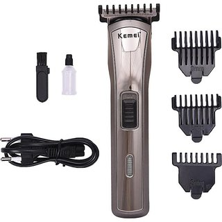 Kemei KM 418 Professional Hair Cordless Trimmer for Men  (Multicolor)