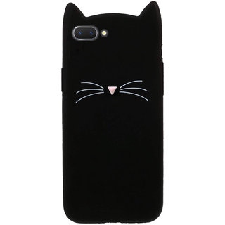 Wondrous Cat cartoon character soft silicon case for Oppo A3s