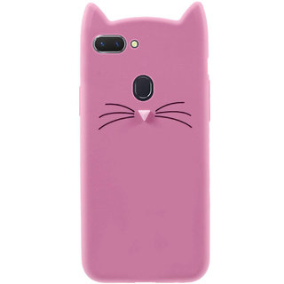 Imperium Cat cartoon character soft silicon case for Oppo F9 Pro
