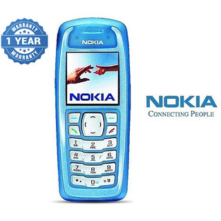 Nokia 3100 / Good Condition/ Certified Pre Owned (1 Year Warranty)