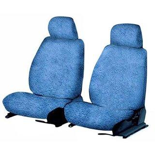 Blue Cotton Towel Seat Cover for Maruti Vitara
