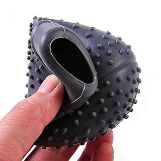 Delhi Traderss Silicone Nonslip Car Gear Shift Knob Cover Coller Ovel (Black)