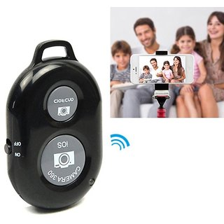 Tech Gear Wireless Bluetooth Remote Selfie Shutter Remote Bluetooth Headset Selfie Remote Shutter for iOS Android Devices