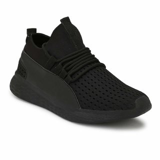 RODDICK Men's Black Casual Shoes