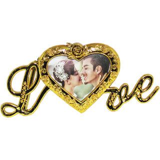 Photo Frame Love Stand for 24k Golden Flower