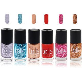 Set of 6 Nail paints (Belle Paris)