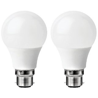 NIPSER 9 Watt Premium 900 Lumens LED Bulb ( Pack of 2), Cool Day Light