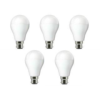 NIPSER 9 Watt Premium 900 Lumens LED Bulb ( Pack of 5), Cool Day Light