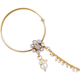 Penny Jewels Alloy Traditional Stylish Naath