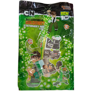 KIDOZ KINGDOM BEN 10 STATIONERY SET