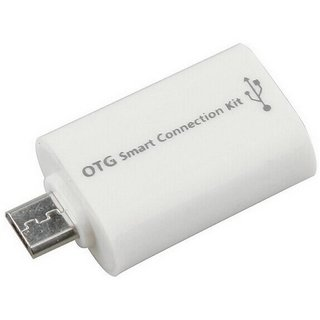Oxza OTG Smart CardReader Connection Kit Micro USB Cable   ALL DEVICES WITH OTG SUPPORT, Multicolor, Sync and Charge Cab