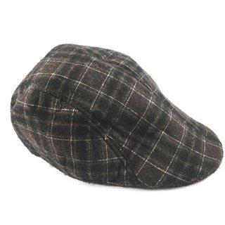 Voici France - Mens Flat Cap Gatsby Duckbill Ivy Cap Golf Driving Hat Fashion Winter