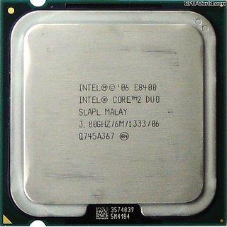 Intel Core 2 Duo Processor 3.0 Ghz (E8400/6Mb/1333 Mhz)