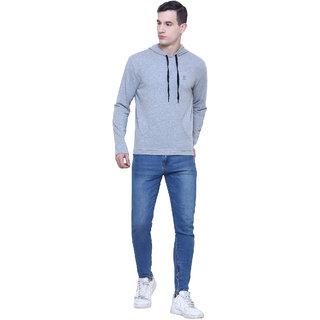 Aazing London Cotton Grey Hoodies For Men's / Boys