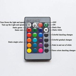 Delhi Traderss 2 X 16 Colors Rgb Bright 5050 Led Car Roof Dome Light  Festoon + T10 Ir Remote For - Hyundai Verna Fluidic