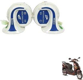 Auto Addict Mocc Bike And Scooty 18 in 1 Digital Tone Magic Horn Set of 2 Pcs. Hero Electric Optima Pluse