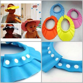 Evershine Baby Safety Shampoo Shield Hat, kid's bath Shower cap, Hair Cut