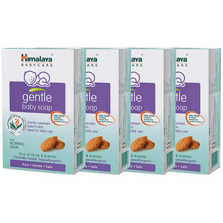Himalaya Gentle Baby Soap (75gm) (Pack Of 4)