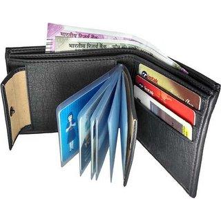 Fashlook Black Wallet For Men