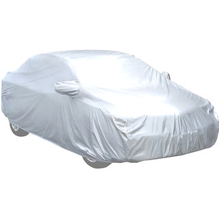 Silver Matty G5 Car Body Cover for Maruti Baleno