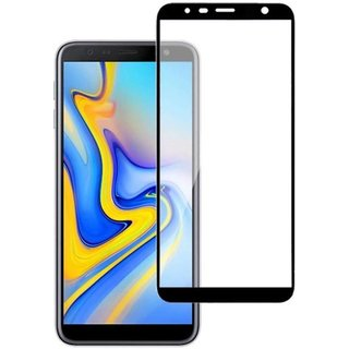 SAMSUNG GALAXY J 6  PLUS 6 D 9 H FULL TEMPERED GLASS BY VIRAL SALES