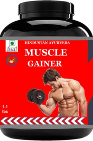 Hindustan Ayurveda Weight Gainer/Muscle Gainer Pack Of 1.1lb. Chocolate Flavour