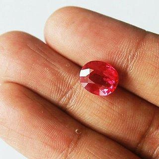 7.25 ratti Ruby Stone natural Manik Lab certified & 100% original stone Jaipur Gemstone