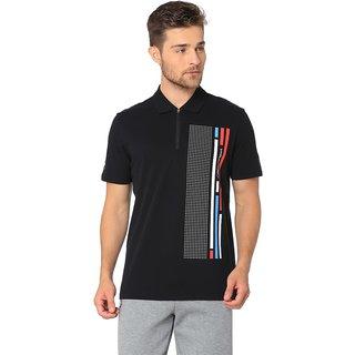4319cafcb28 Buy Puma Men s Black Bmw Mms Graphic Polo T-Shirts Online   ₹3289 ...