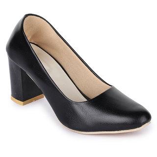 Sapatos Women Black Block Heels