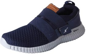 Sparx Men's Navy Grey Mesh Sports Running Shoes