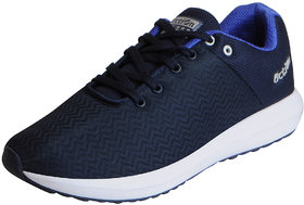 Action Men's Navy Blue Mesh Sports Running Shoes