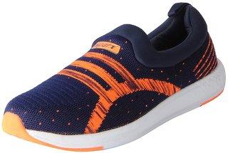 Sparx Men's Navy Orange Mesh Sports Running Shoes
