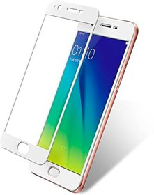 Oppo A57 5D Glass Full Covrage, Fully Glue 9H Hardness Tempered Glass  High Qaulity