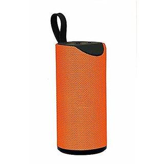 doitshop TG113 Portable Bluetooth 4.0 Speaker with FM/USB/Micro SD Card/AUX Multimedia Speaker System Super Bass(Orange)