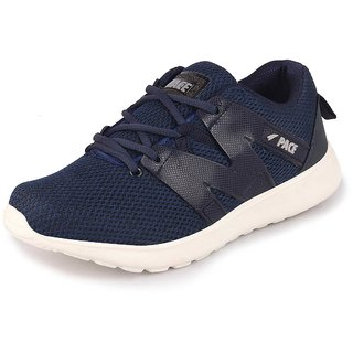 Lakhani Pace Energy Men's Navy Black Grey Sports Running Shoes