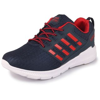 Lakhani Pace Energy Men's Navy Red Sports Running Shoes