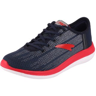 Lakhani Pace Energy Men's Navy Blue Sports Running Shoes