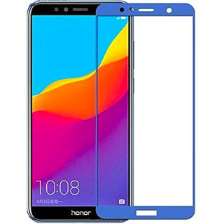 Honor 7A 5D Glass Full Covrage, Fully Glue 9H Hardness Tempered Glass  High Qaulity