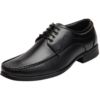 Bata Mens Black Formal Lace Up Shoes