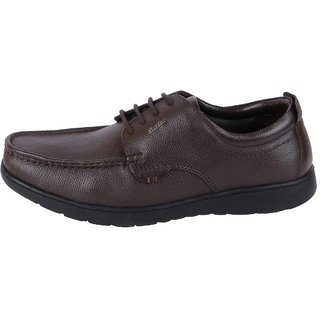 Bata Men's Brown Formal Lace Up Shoes