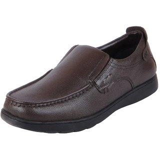 Bata Mens Brown Formal Slip On Loafers