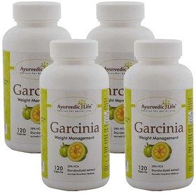 Ayurvedic Life Garcinia 120 capsules (Pack of 4)