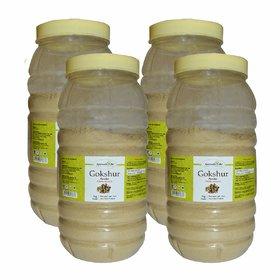 Ayurvedic Life Gokshur Powder - 1 kg powder (Pack of 4)