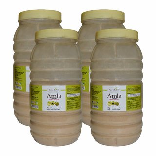Ayurvedic Life Amla Powder - 1 Kg (Pack of 4)