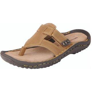Bata Men's Camel House Slippers