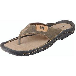 Bata Men's Olive House Slippers