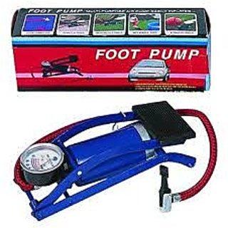 foot mini pump car bike motorcyle inflatables toy athletic balls Blue Multi   Purpose Air Foot Pump portable mini pump