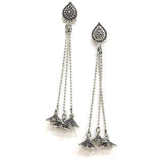Light weight Brass Fashionable drop Earrings Jhumki for woomens and girls Womens Earrings